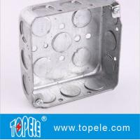 TOPELE 52151 / 52161 / 52171 Galvanized Steel Square Electrical Outlet Box Manufactures