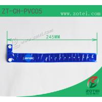 RFID one-time PVC wristband tag (LF/HF/UHF, Product Type:ZT-CH-PVC05) Manufactures