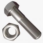 Zinc Coated Hex Head Bolt , Half Thread Heavy Hex Structural Bolt M6-M24 Manufactures
