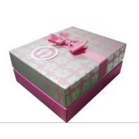 Holiday Cardboard Gift Boxes with Soy Ink Printing for Chocolate / Candy Packaging Manufactures