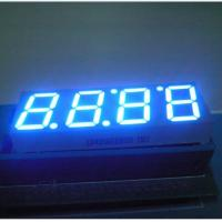 Quality Seven Segment Digital Clock Display With Black Face Color LB40566IBH0B for sale