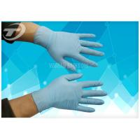 Surgical Powder Free Latex Gloves , High Tensile Strength Nitrile Medical Gloves Manufactures