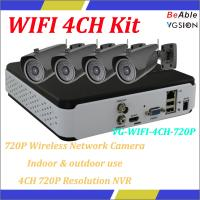 No need wiring, play & plug, widely used in family and shop, Indoor & outdoor use  wireless network camera kits Manufactures