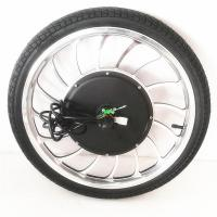 "BLDC 36v 48v 1000w 20"" Electric Bike Hub Motor / Bicycle Wheel Electric Motor Manufactures"