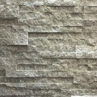 White Grey Granite Stacked Stone Natural Flat Style Oem For Ledge Panel Manufactures