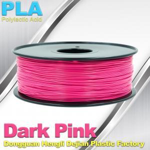 1.75mm 3.0mm  PLA 3D Printing Filament 1kg / Roll For Makerbot Manufactures