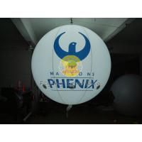Round Fireproof and Waterproof Inflatable Lighting Balloon with 0.18mm PVC for Advertising Manufactures