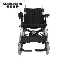 Quality Lightweight Electric Folding Wheelchair Spray Steel Material DLY-6012 for sale