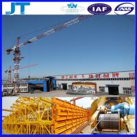 Good after-sales service 4T JT4808 good use tower cranes for sale Manufactures