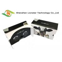 Corrugated Paper Google Cardboard Compatible Phones For Military , Medical , Real Estate Manufactures