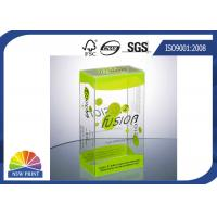Plastic Clamshell Packaging Transparent PVC Boxes with UV Coating Eco-friendly and Recycled Manufactures