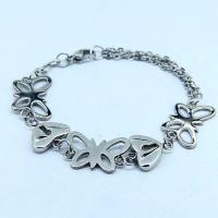 China High Quality Stainless Steel Fashion Mane's Women's Bracelet LBS92 on sale