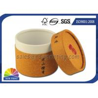 Customized Cylinder Paper Packaging Tube , Food Grade Round Paper Tube Containers Manufactures