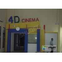 Entertainment 4D Movie System With Motion Seat / Metal Flat Screen Manufactures