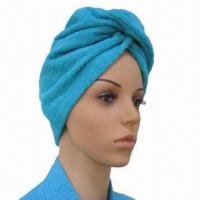 China Head Towel, Made of Cotton Terry, Suitable for Beauty Salon and Personal Care on sale