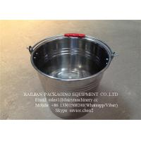 Food - Grade Stainless Steel Water Bucket , Water Barrel For Milk Manufactures