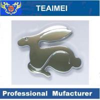 China Personalised Cute Rabbit Custom Car Emblems Car Badge Logos For Audi / BMW wholesale