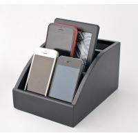 Personalized Wooden Docking Station For Cell Phones With Hinged Rear Door Manufactures