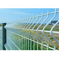 Vinyl Coated Wire Mesh Fence Electro Galvanized Strong Wire Fencing Manufactures