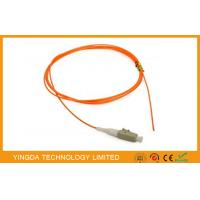 China LC / PC Fiber Optic Patch Cord Pigtail  62.5 / 125um MM , Fiber Optical LC Pigtail on sale