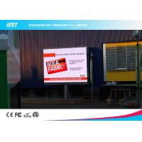 1/4 scan P10 1R1G1B Outdoor Advertising LED Display For Airport / Hotel  with 160X160mm Module Manufactures