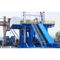 China Intelligent ZJ70/4500D Skid Mounted Drilling Rig Machine Driven By AC VF Motor on sale
