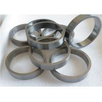Cemented Tungsten Carbide Rings High Resistance To Scratching OEM ODM Manufactures