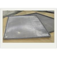 Food Baking Sainless Steel Wire Mesh Tray With Mesh Surface For Filtering Manufactures