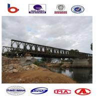 Emergency Steel Bailey Bridge installation,portable bridge ,cantilever launching bridge Manufactures