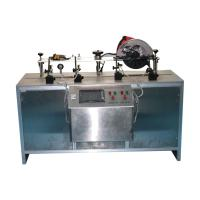 IEC60745-2-5 Lower Guard Durability Test And Close Time Test Equipment With Circular Saw At A 90°Cut Manufactures