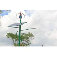 Maglev Turbines Wind Solar Hybrid System Street Light , installed at Low Carbon City Manufactures