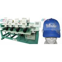 4 Heads 1000 SPM Tubular Computerized Embroidery Equipment for cap/shirt  , 110V / 220V Manufactures