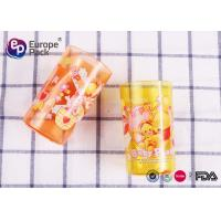 BPA Free Round Childrens Plastic Cups Food Grade With Cute Printing Manufactures