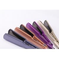 CE certificated Personal hair straightener brush with ceramic heater Manufactures