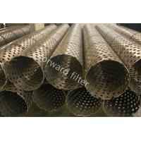 Downhole Sand Control Screens , Oilfield Prepack Wire Wrap Well Screen Manufactures