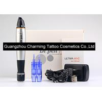 Black And Silver Dr Pen Auto Microneedle System Machine Electric Vibrating Pen Manufactures