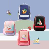 NHB320 high quality PU polyester Cartoon School Bag Cute Animal Kids Shoulder student travel bags Manufactures