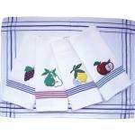 100% cotton waffel embrodiery tea towel/kitchen towel/dish towel Manufactures