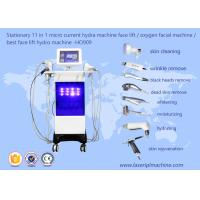 Stationary 11 In 1 Micro Hydra Machine Face Lifting Oxygen Beauty Machine HO909 Manufactures