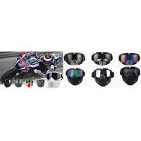 China TPU Frame Motorcycle Racing Goggles Windproof For ATV Competition on sale
