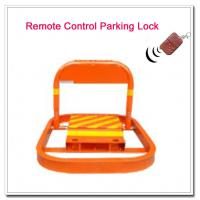 China Automatic Remote Control Car Parking Lot Lock Car Position Parking Barrier Car Space Locks on sale