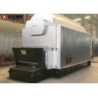 China 10 Tph Wood Chips Fired Steam Boiler , Wood Pellet Boiler For Paper Process Industry on sale