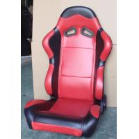 Red Black Sport Racing Seats With Single Or Double Slider Simple Installation Manufactures