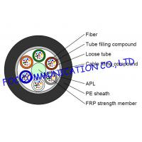 China GYFTA Optical Fiber Cable With Non metal Central Strength Member and Aluminium Tape on sale