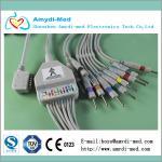 Kanz 109 one-piece EKG leadwires 10-lead. Din 3.0 Manufactures