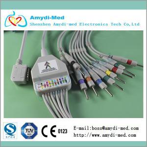 Quality Kanz 109 one-piece EKG leadwires 10-lead. Din 3.0 for sale