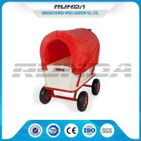 Long Durability Heavy Duty Carts Wagons 16.5kg Steady Frame Air Rubber Wheel Manufactures