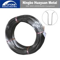 China stainless steel spring wire for Bra/ Bra wire on sale