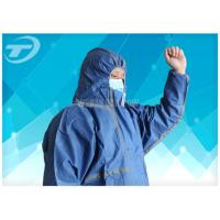 20gsm -70gsm Food Processing Microporous painters disposable coveralls Non Woven Safety Manufactures