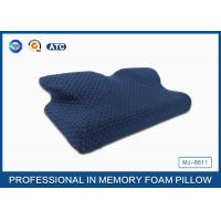 Newest Moulded Visco Elastic Memory Foam Curved Cooling Gel Pillow Preventing Numb Arm Manufactures